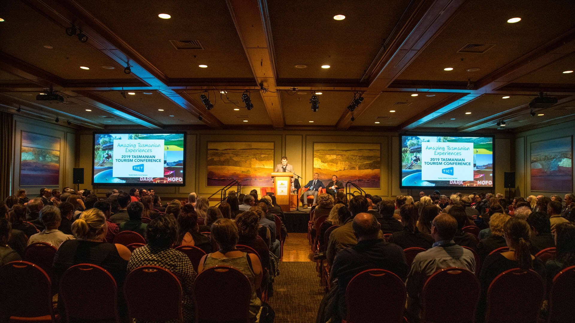 A conference in the Ballroom